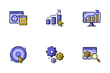 SEO & Marketing Icon Pack
