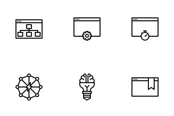SEO, Marketing & Development Icon Pack