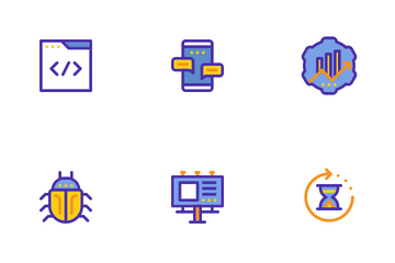 SEO Marketing Filled Ouline Icon Pack