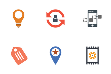 Seo Marketing Flat Icon Pack