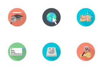 SEO Marketing Icon Icon Pack