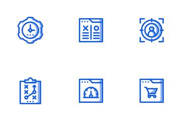 SEO Marketing Shady Icon Pack