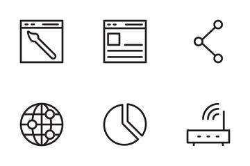SEO Marketnig 2 Icon Pack