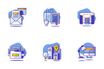 Seo & Startup Icon Pack