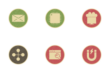 Seo Vintage Icon Pack