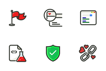 SEO & Web 2 Icon Pack