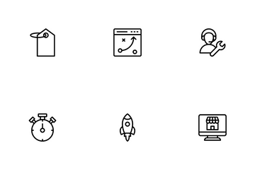 Seo & Web Icon Pack
