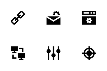 SEO Web Optimization Icon Pack