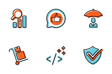 SEO & Web Vol 10 Icon Pack