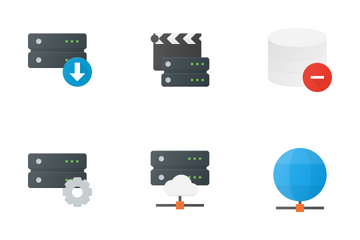 Server And Database Icon Pack