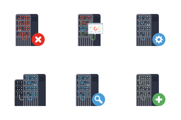 Server Rack Icon Pack
