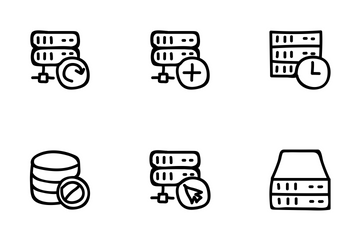 Servers Database Icon Pack