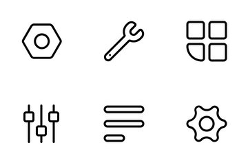 Setting And Option Icon Pack