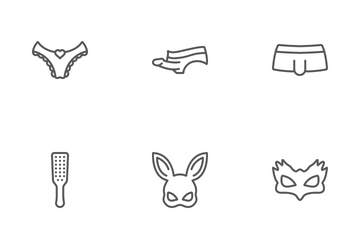 Sex Shop Icon Pack