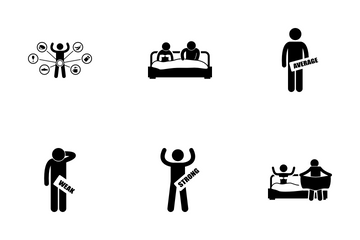 Sexual Problem Icon Pack