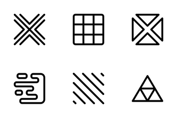 Shape Patterns Icon Pack