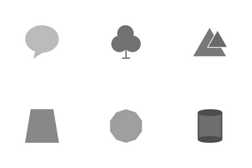 Shapes And Geometry Icon Pack