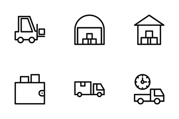 Shipping Icon Pack