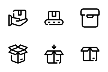 Shipping And Delivery Icon Pack