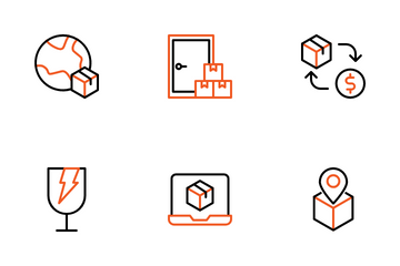 Shipping And Logistic Icon Pack