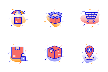 Shipping And Logistics Icon Pack
