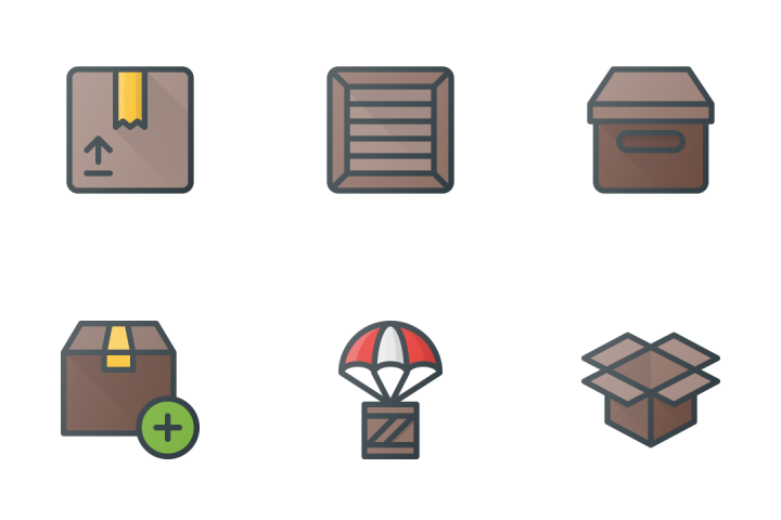 Shipping & Delivery  Icon Pack