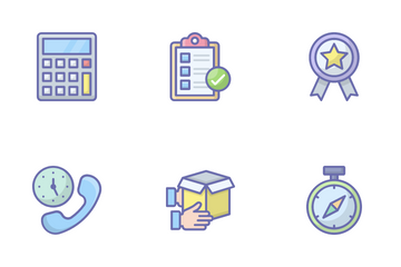 Shipping, Delivery And Fulfillment Icon Pack