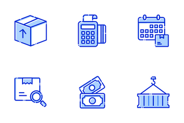 Shipping & Logistics Icon Pack