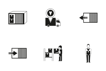 Shipping Service Icon Pack