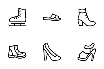 Shoes Vector Icons Icon Pack