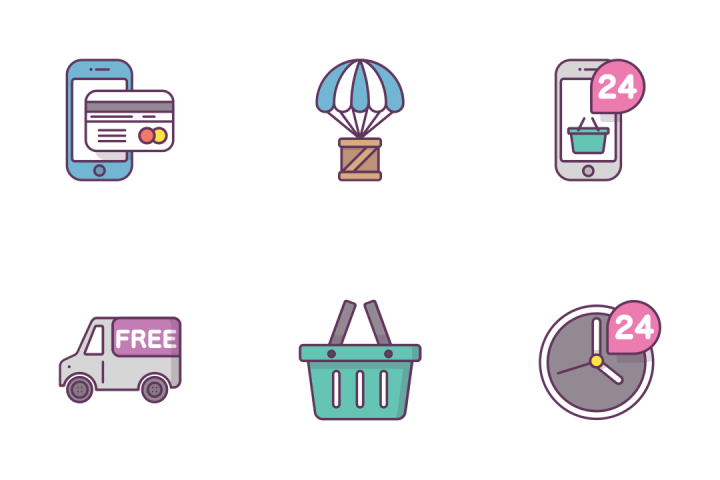 Shop-Payment Vol 1 Icon Pack