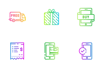 Shopping 01 Icon Pack