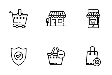 Shopping 02 Icon Pack
