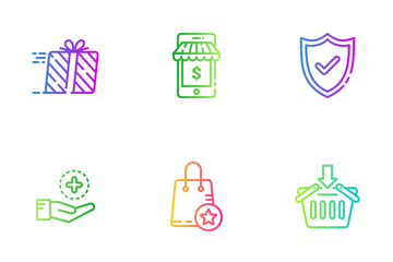 Shopping 04 Icon Pack