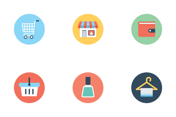 Shopping 1 Icon Pack