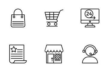 Shopping 2 Icon Pack