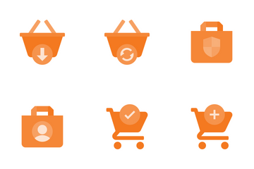 Shopping Actions Icon Pack