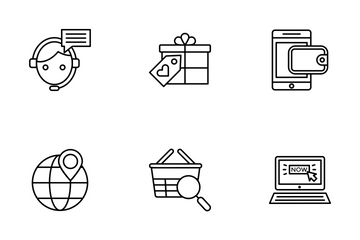 Shopping And Commerce 2 Icon Pack