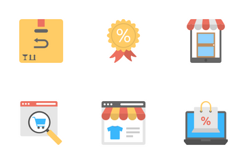 Shopping And Commerce 3 Icon Pack