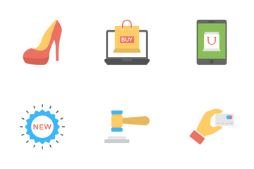 Shopping And Commerce 4 Icon Pack