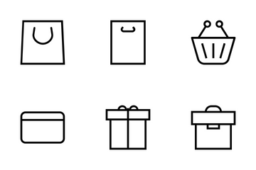Shopping And Commerce Icons Icon Pack