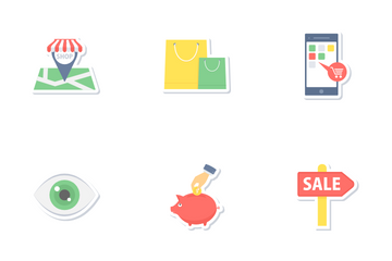 Shopping And Commerce Part 2 Icon Pack