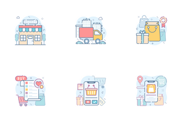 Shopping And E-Commerce Icon Pack