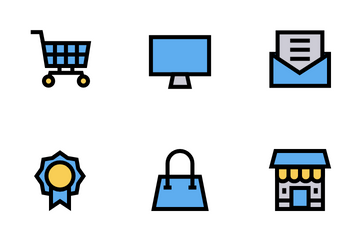 Shopping And E- Commerce Icon Pack