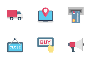 Shopping And E Commerce Icon Pack