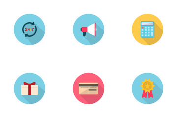 Shopping And E-Commerce Icon Icon Pack