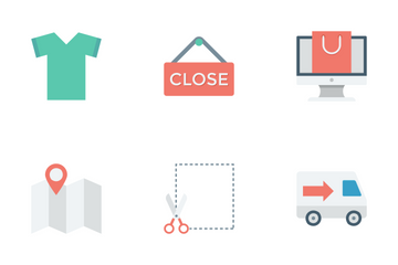 Shopping And E-commerce Vol 1 Icon Pack