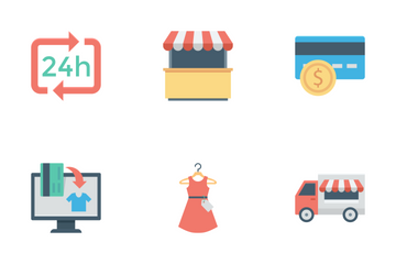 Shopping And E-commerce Vol 2 Icon Pack
