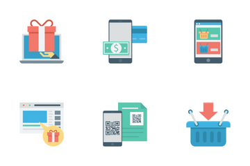 Shopping And E-commerce Vol 3 Icon Pack