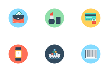 Shopping And ECommerce 1 Icon Pack